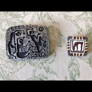 Jewelry - Three unique pins